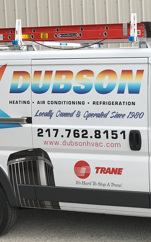 About Dubson HVAC header logo